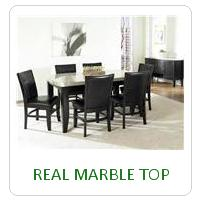 REAL MARBLE TOP